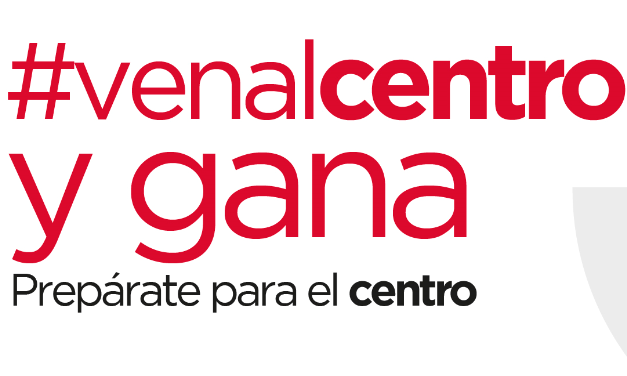 Promoción #VENALCENTRO